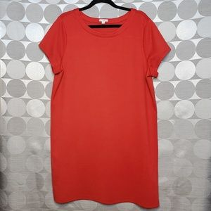 GAP designed & crafted red dress size XL